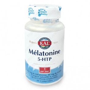 Mélatonine 1,9mg + 5-HTP 50mg Kal
