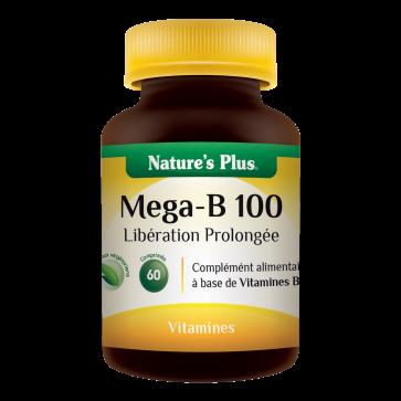 Mega-B 100 Nature's plus 60 comprimés