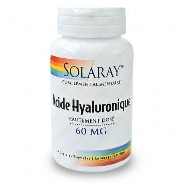 Acide Hyaluronique Hautement Dosé 60mg Solaray