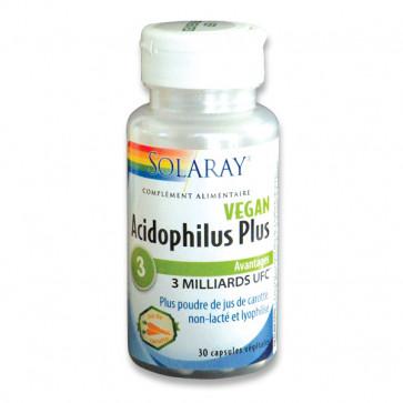 Acidophilus Plus non lacté Solaray