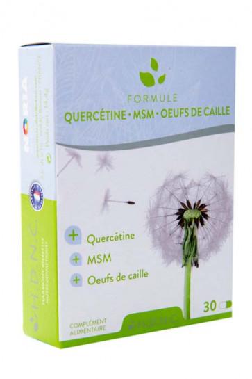 Formule Allergies Quercétine • MSM • Œufs de caille H.D.N.C