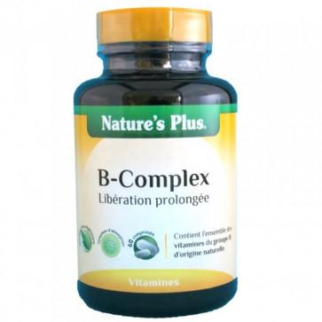 B-Complex Nature's plus 60 comprimés
