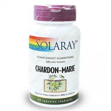 Chardon-Marie 175mg standardisé à 80% de Silymarine Solaray