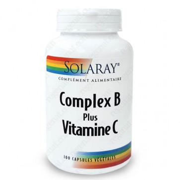Complex B plus Vitamine C Solaray
