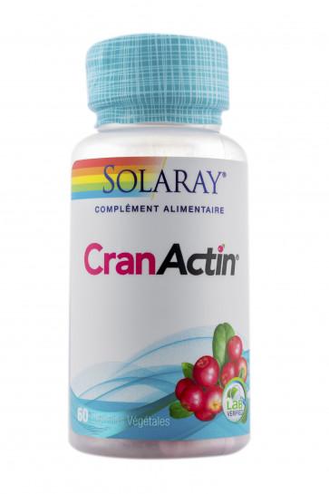 CranActin® Extrait de Canneberge AF™ 400mg Solaray