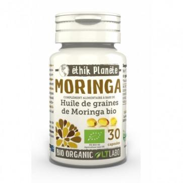 Huile de graines de Moringa Bio Ethik Planète