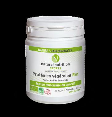 Protéines Végétales Bio Natural nutrition sports 300g