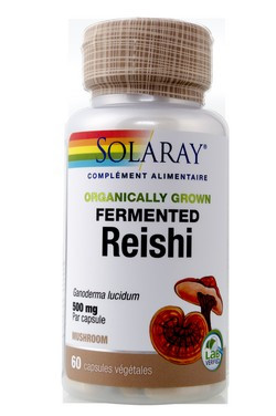 Reishi fermenté 500 mg Solaray