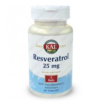 Resveratrol 25mg Kal