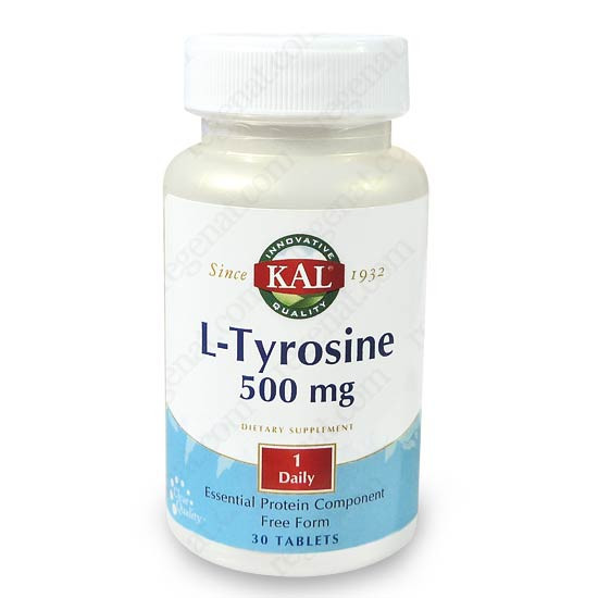 l tyrosine 500mg kal. Black Bedroom Furniture Sets. Home Design Ideas