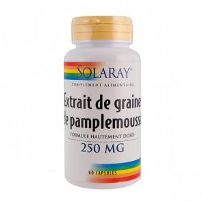 Extrait de graines ou pépins de pamplemousse (EPP) 250mg Solaray