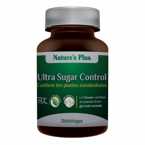 Ultra Sugar Control Nature's plus 60 comprimés
