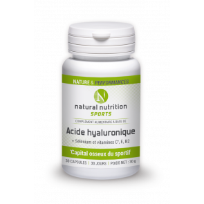 Acide Hyaluronique Natural nutrition sports 30 capsules