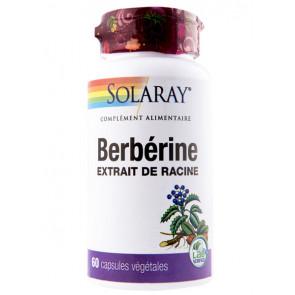 Berberine Solaray 60 capsules végétale