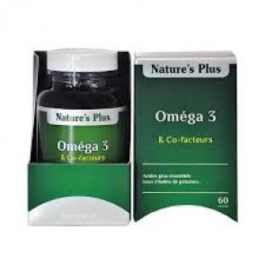 Oméga 3 & co-facteurs Nature's plus 60 capsules