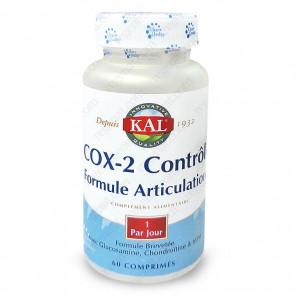 COX2 Contrôle - Glucosamine 500mg + MSM 250mg + Chondroïtine 50mg Kal