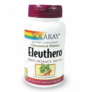 Eleutherocoque 200mg standardisé à 0,5% d'Eleuthérosides Solaray