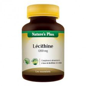 Lécithine Nature's plus 1200mg