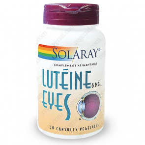 Lutein Eyes™ (Lutéine) 6mg Solaray