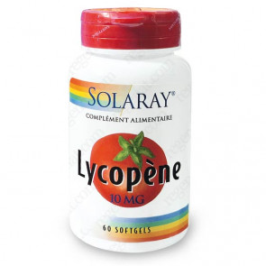 Lycopène 10mg Solaray