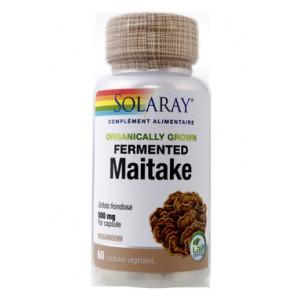 Maitake fermenté 500 mg Solaray