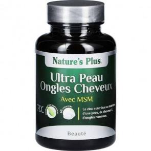 Ultra Peau Ongle Cheveux Plus avec MSM Nature's Plus 60 comprimés
