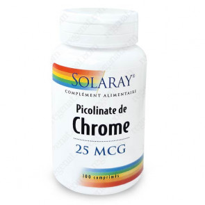 Picolinate de Chrome Solaray