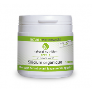 Silicium organique Natural nutrition sports 150 ml