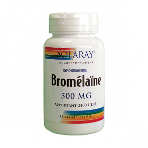 Bromelaïne 500mg Solaray
