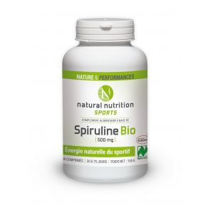 Spiruline Natural nutrition sports 300 comprimés