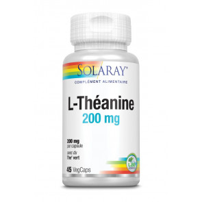 L-Théanine 200mg Solaray
