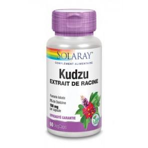 Kudzu standardisé à 2% de Daidzine Solaray