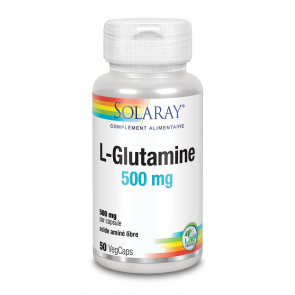 L-Glutamine 500mg Solaray