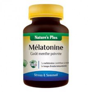 Melatonine Nature's plus 30 comprimés