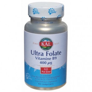 Vitamine B9 Ultra Folate 400μg Kal