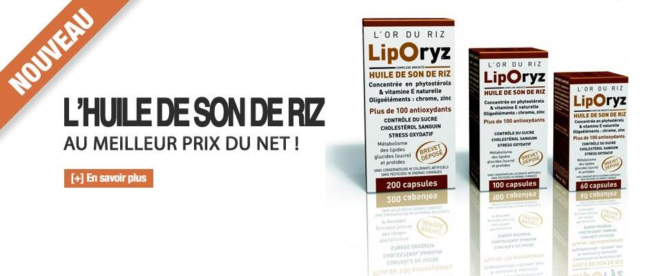 Liporyz - L'huile de son de Riz