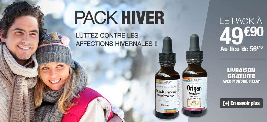 Pack Hiver Solaray