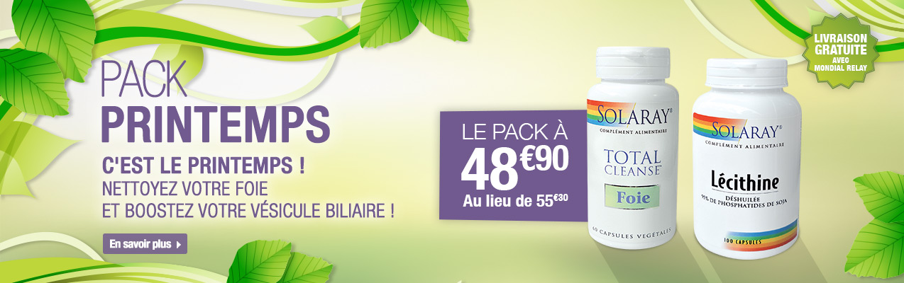 Pack printemps solaray